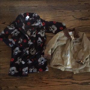 Star Wars Robe/Lined Jacket Lot Boys 4